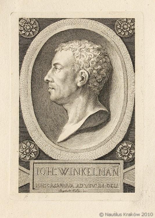 Portret Johanna Winckelmanna, ok. 1762