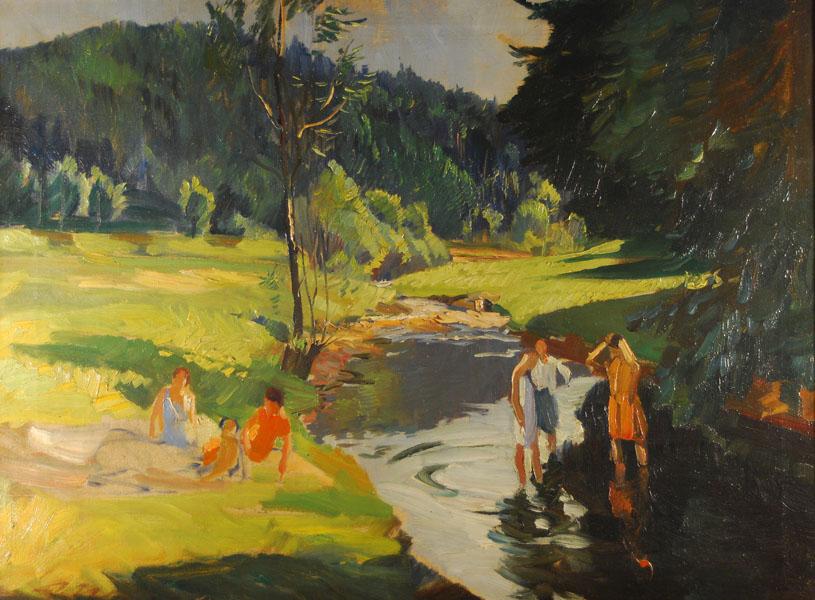 Kobiety nad rzeką