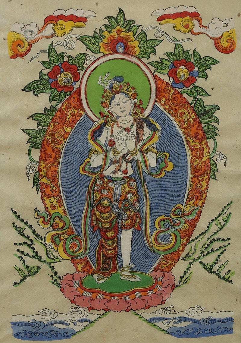 Padmapani (?), Tybet, poł. XX w.
