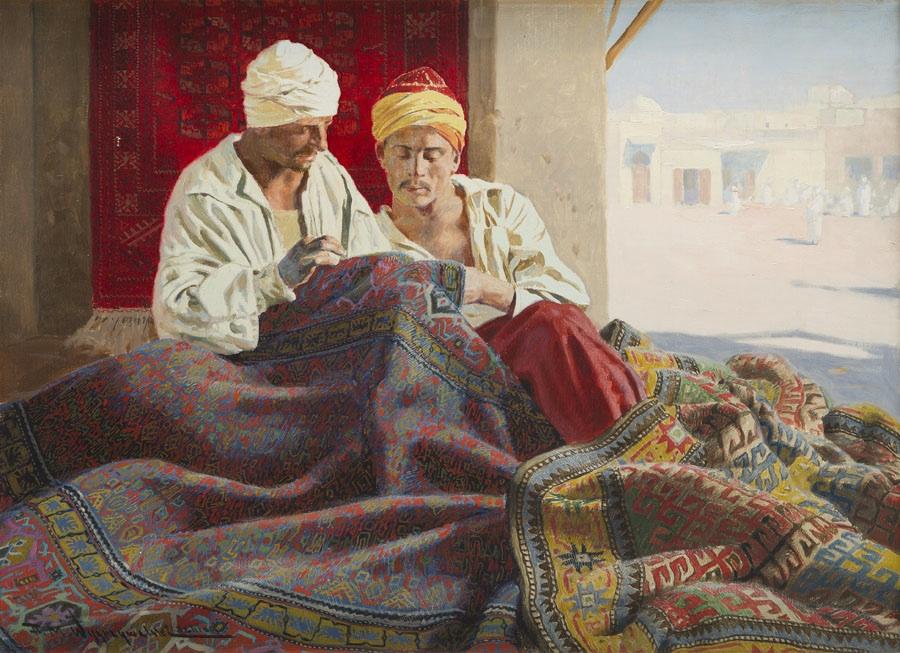Naprawiający dywany