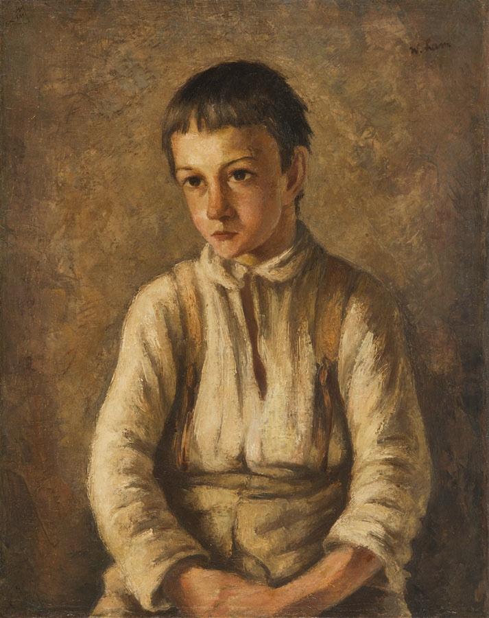 Wiejski chłopak, około 1928 r.