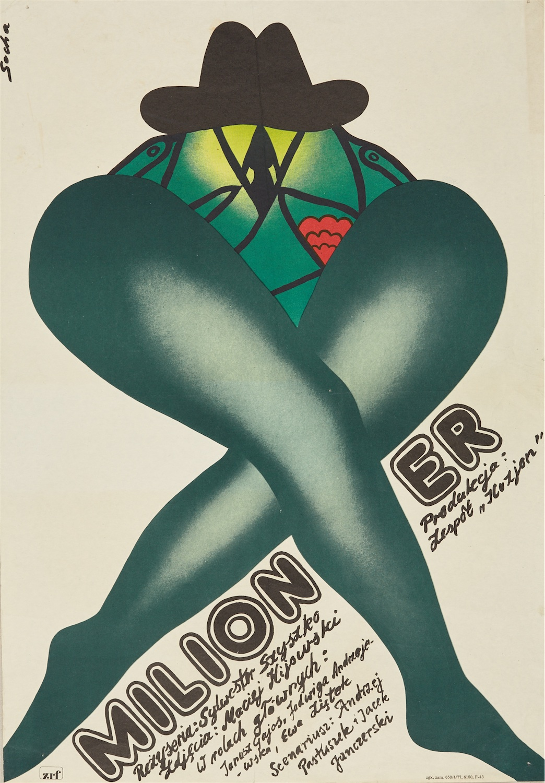 Plakat do filmu Milioner