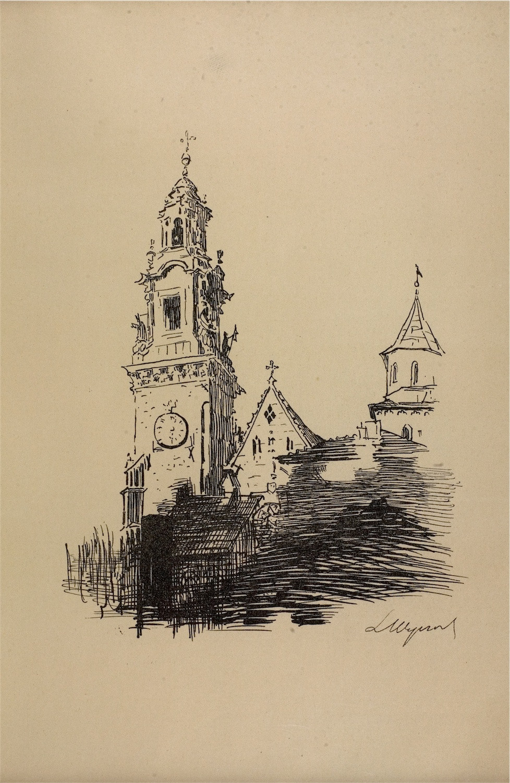 Katedra Wawelska, 1915