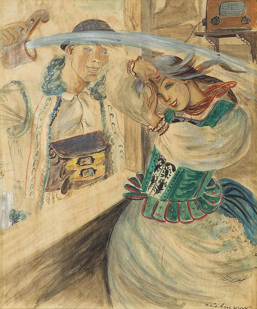 ŚMIGUS W BESKIDACH, ok. 1930