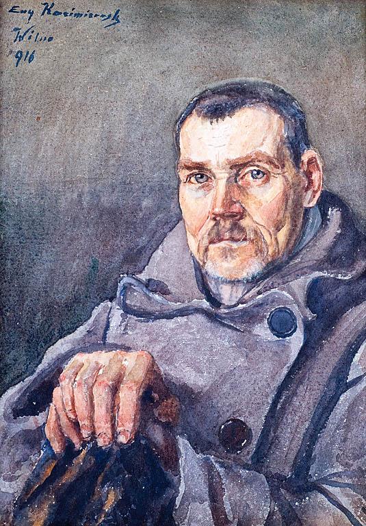 PORTRET MĘŻCZYZNY, 1916