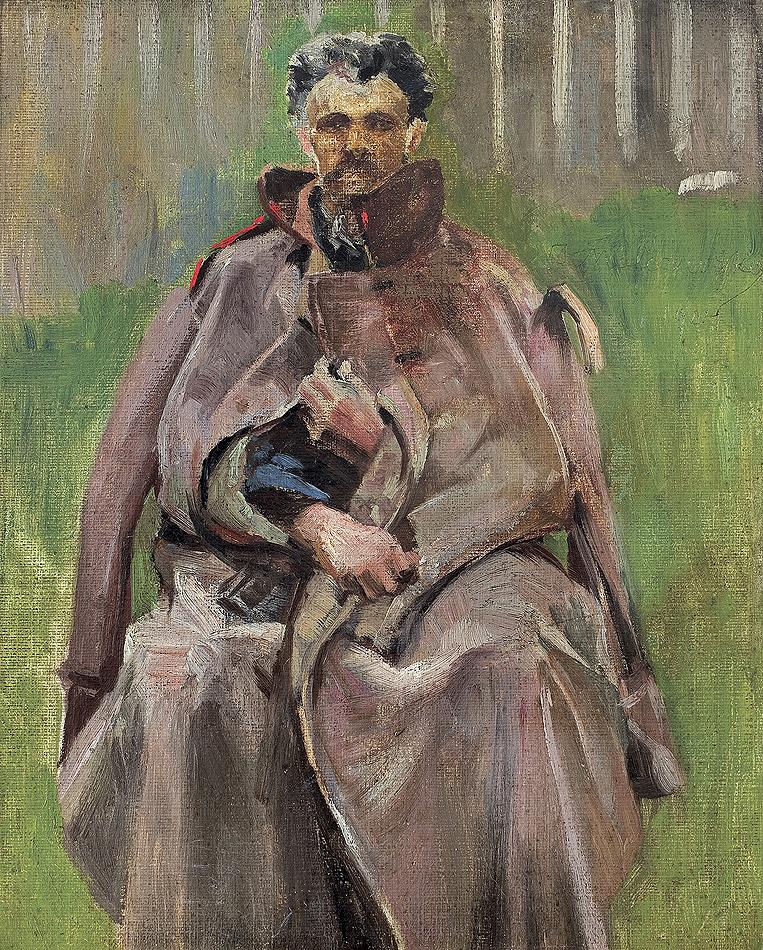 SYBIRAK. MĘŻCZYZNA W SZYNELU, 1904