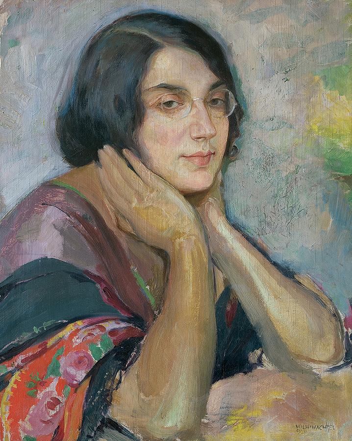 ZAMYŚLONA. PORTRET DZIEWCZYNY, 1924