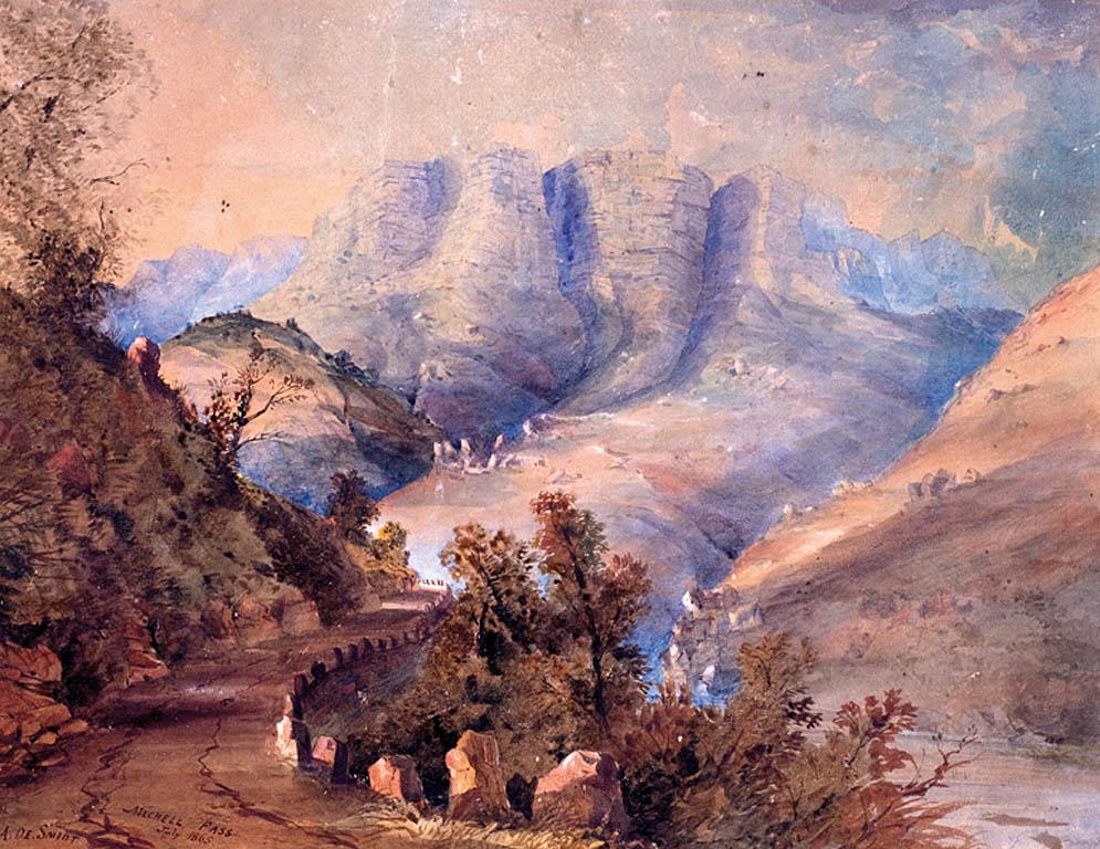 MICHELL PASS, 1865