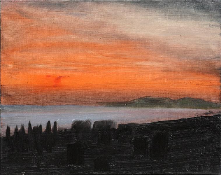 Zachód słońca na Korčuli, 2013