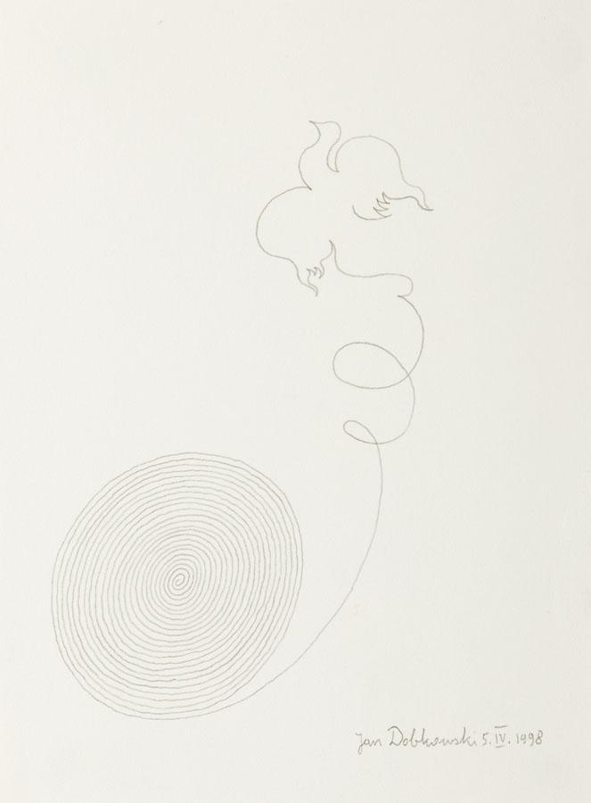 Kompozycja z ptakiem, 1998 r.