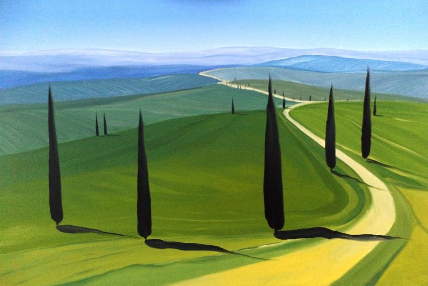 Toscana XXX, 2017r.