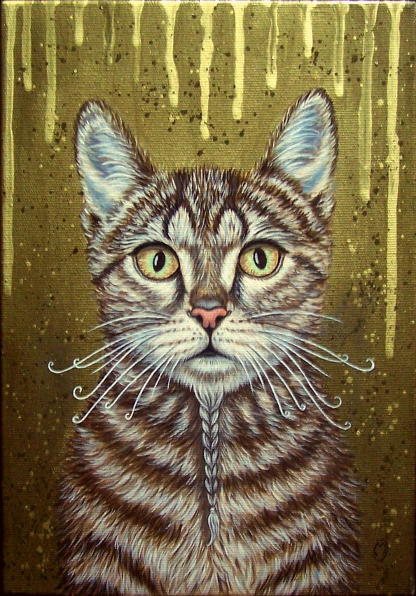 Kot z brodą I, 2015r.