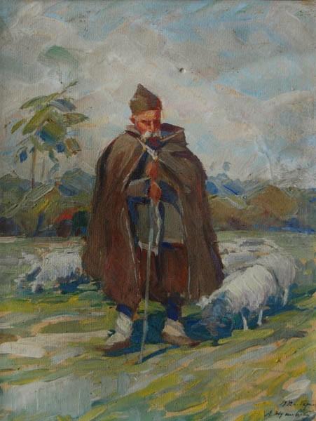 Pasterz z owcami (1932)
