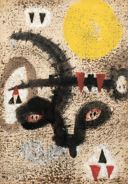 Kompozycja abstrakcyjna, 1958