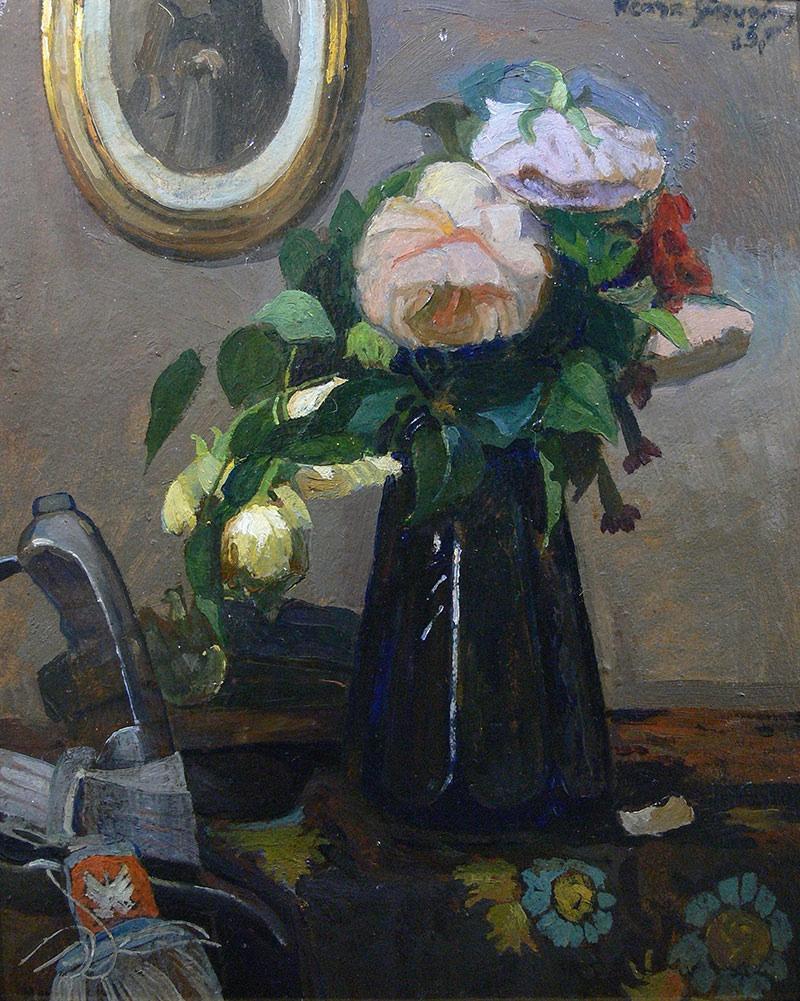 Więdnące kwiaty, ok. 1917 r.