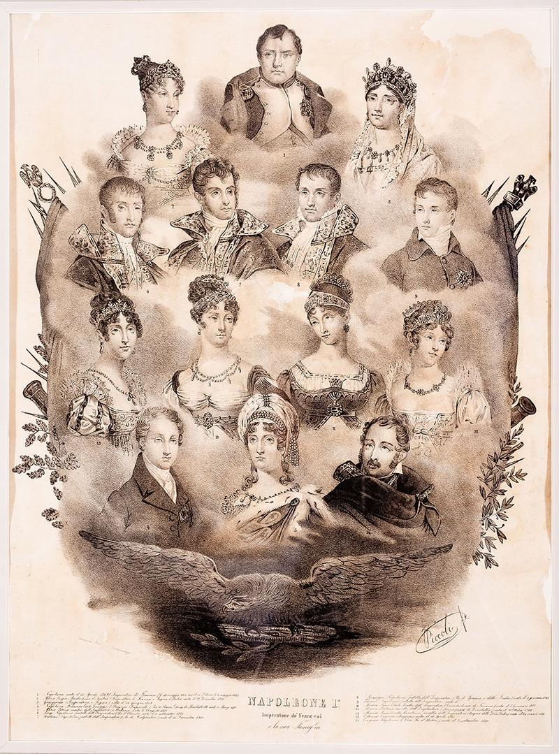 Rodzina Napoleona, XIX w.