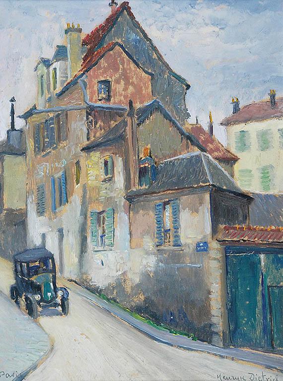 Motyw z Montmartre, 1931