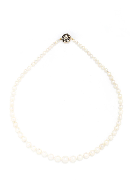 Naszyjnik perłowy, okres międzywojenny