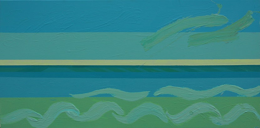 Pejzaż Morski II, 2015