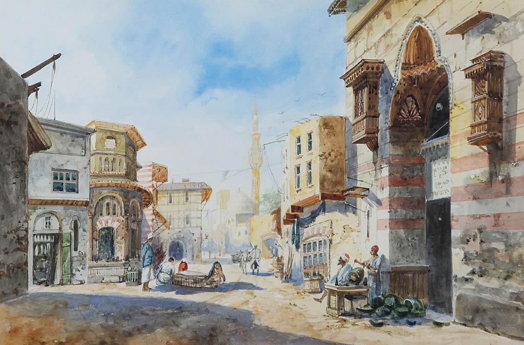 W arabskim mieście