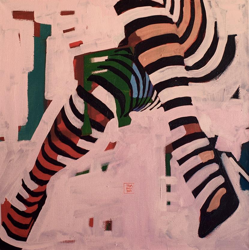Zebra No. 3, 2017