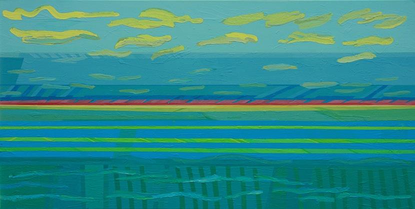 Pejzaż morski III b, 2015