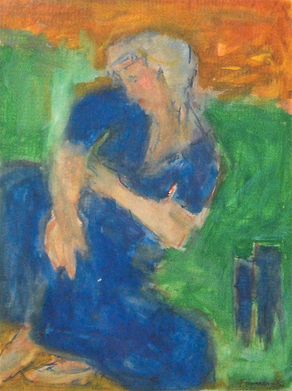 Femme de profil (1953)