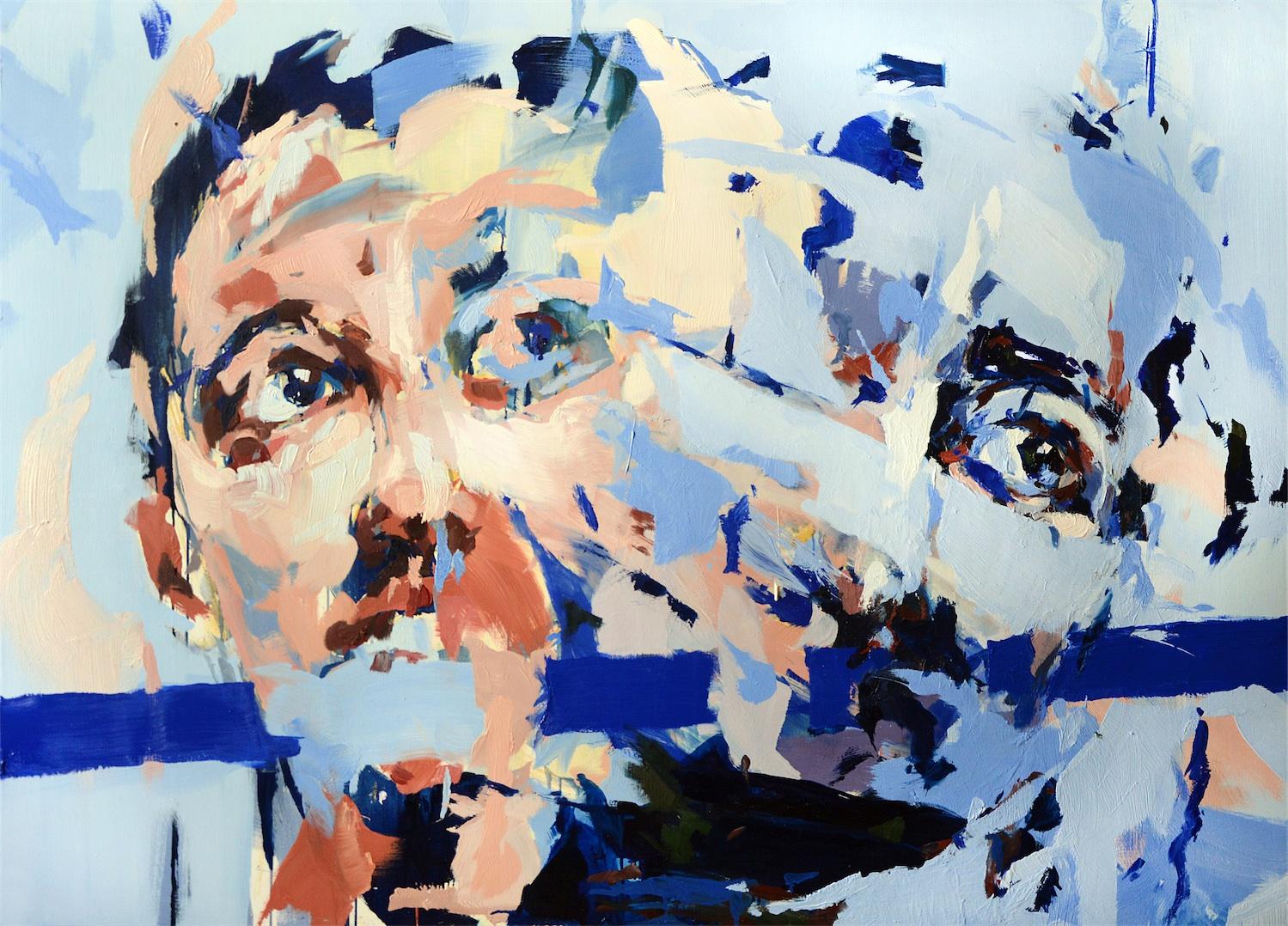 Dwoistości II z cyklu Niebieski, 2016