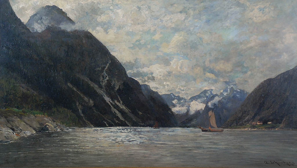 Widok fiordu