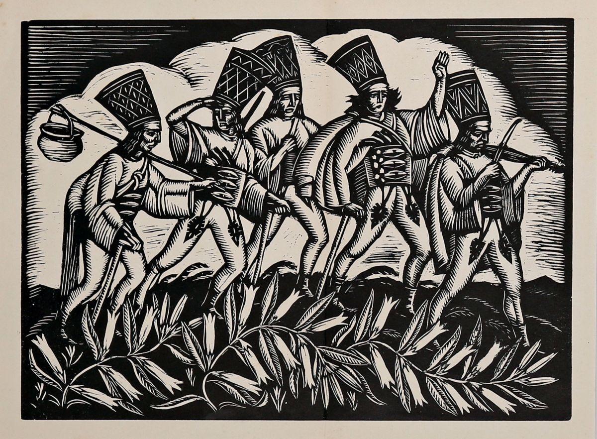 Pochód zbójników, 1929 r.