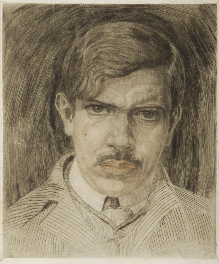 Autoportret młodzieńczy, 1910 r.
