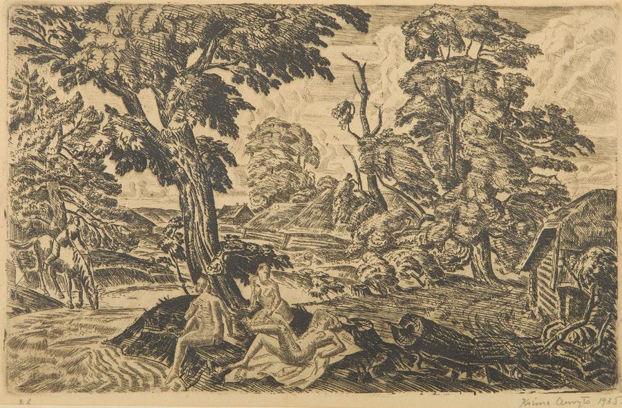 Scena alegoryczna, 1935 r.