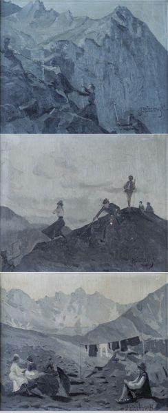 Wspinaczka, Na szczycie góry, Popas w górach