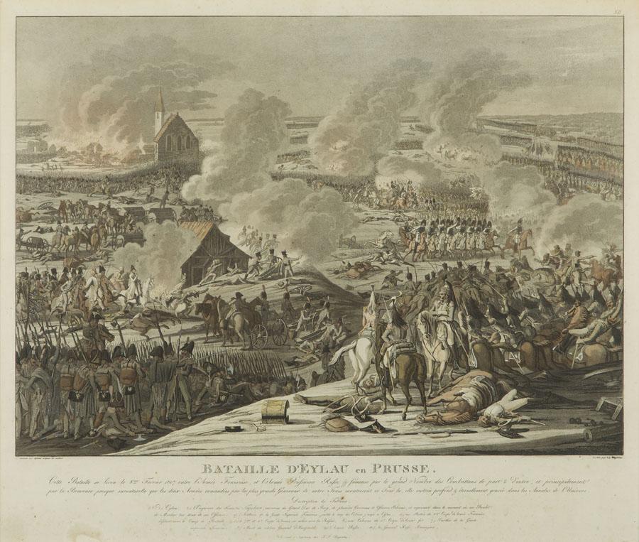 Bitwa pod Iławą Pruską 8 lutego 1807