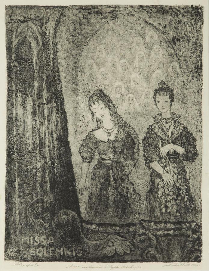 Missa Solemnis z cyklu Beethoven, około 1971 r.
