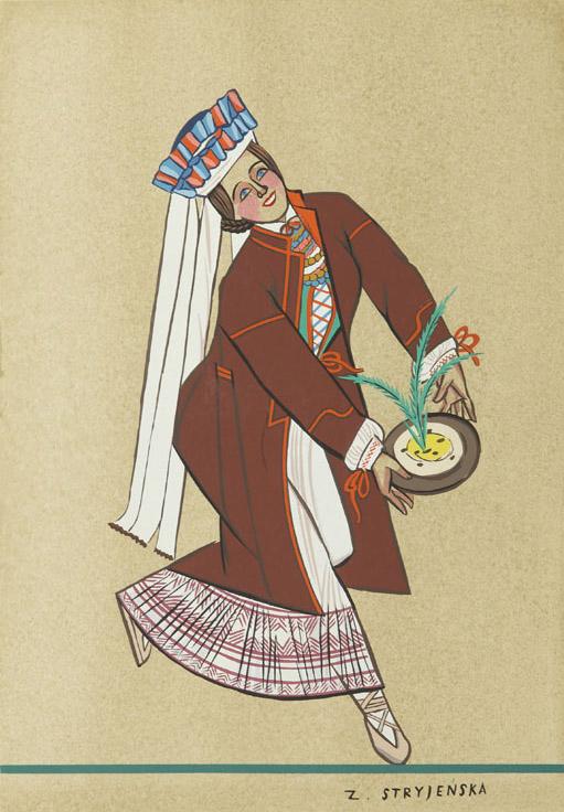 Strój ludowy z lubelskiego - tablica 33