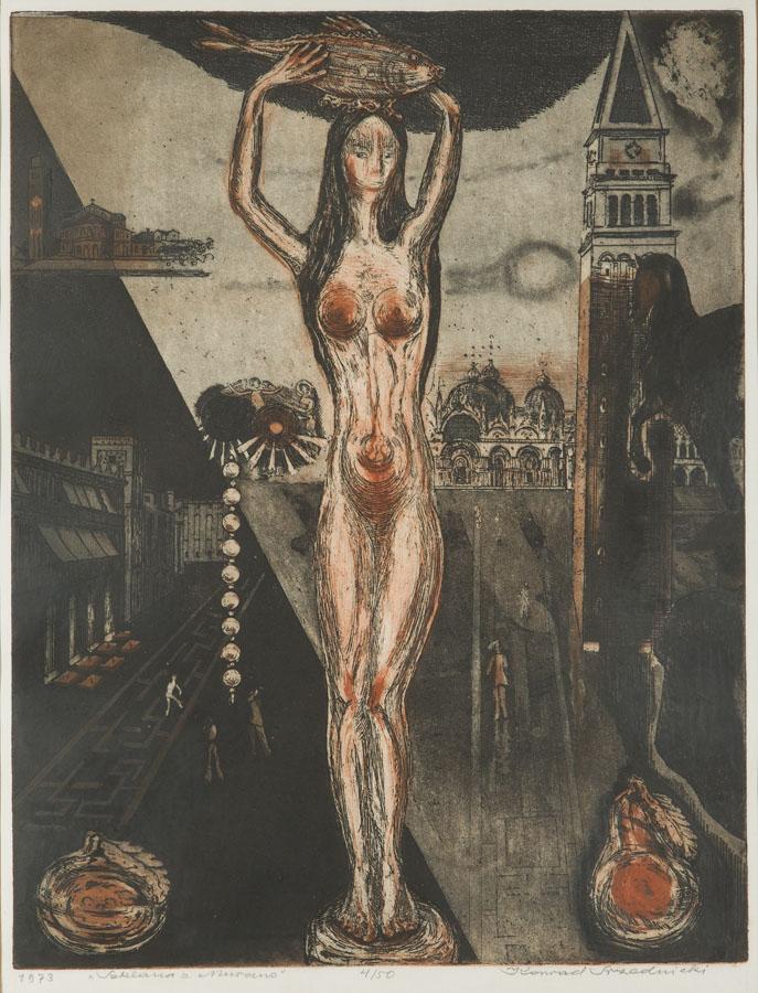 Szklana z Murano, 1973 r.