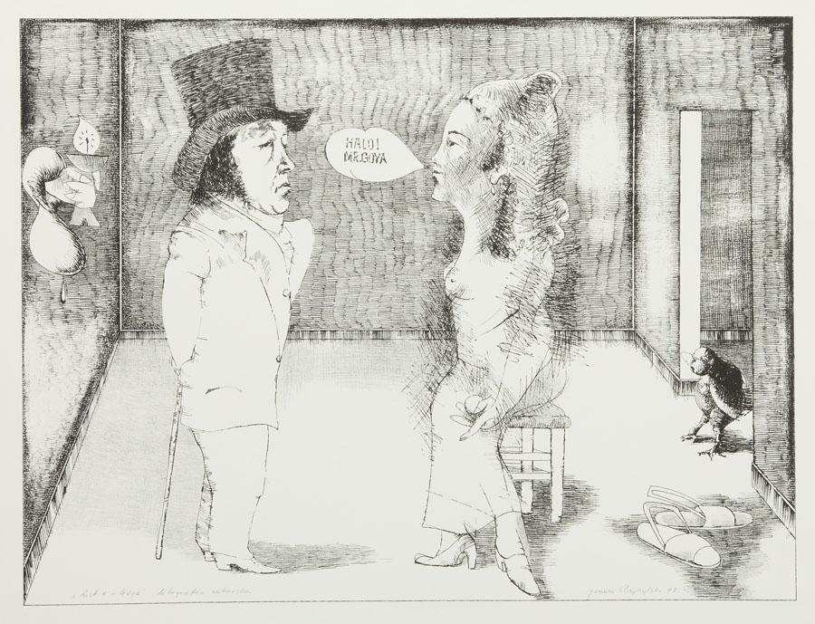 Listy - Goya, 1977 r.