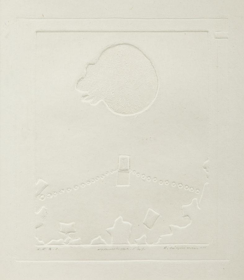 Kompozycja z czaszką, 1996 r.