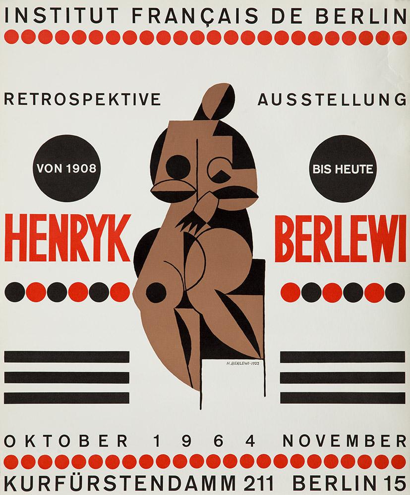 Henryk Berlewi, wystawa retrospektywna, 1964 r.