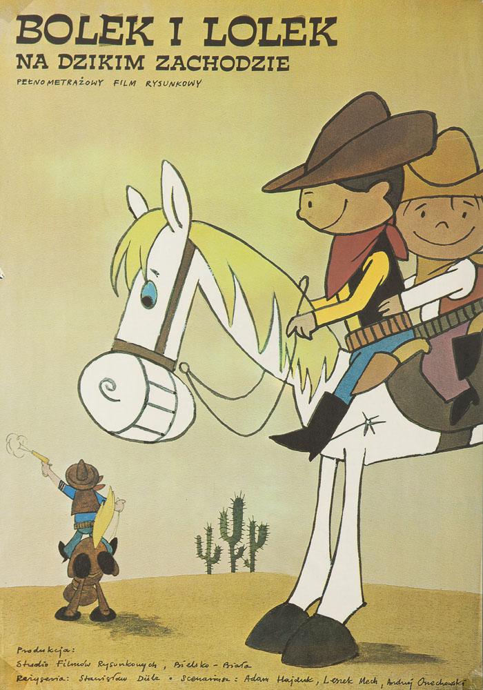 Bolek i Lolek na Dzikim Zachodzie, około 1986 r.