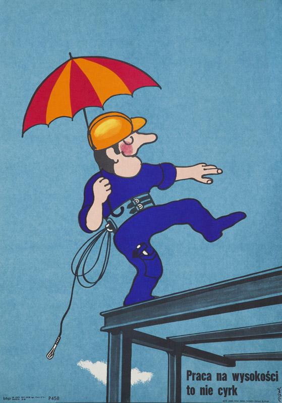 Praca na wysokości to nie cyrk, 1973 r.