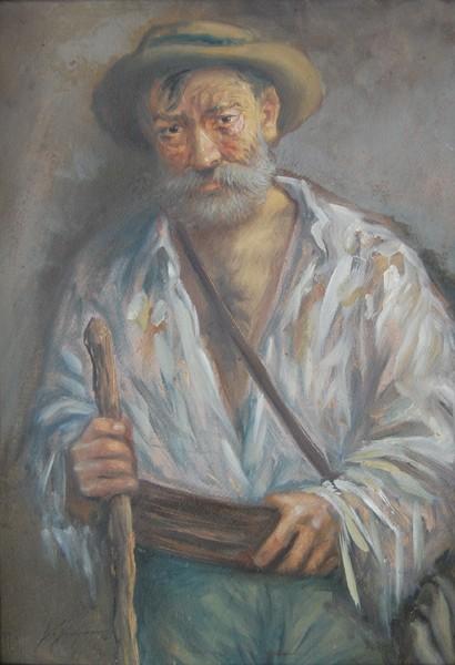 Portret wędrowca