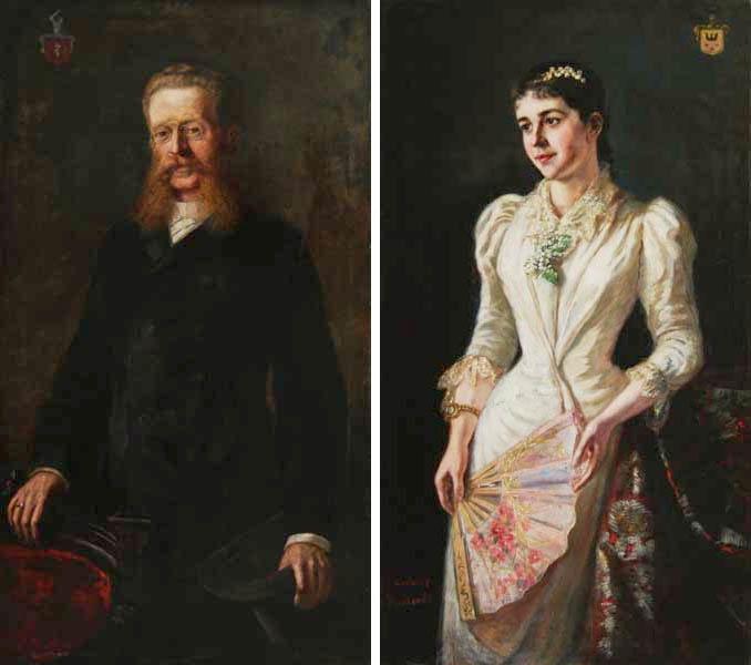 Para portretów rodowych