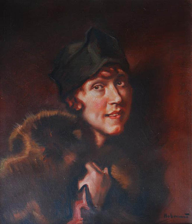 Portret kobiety w etoli