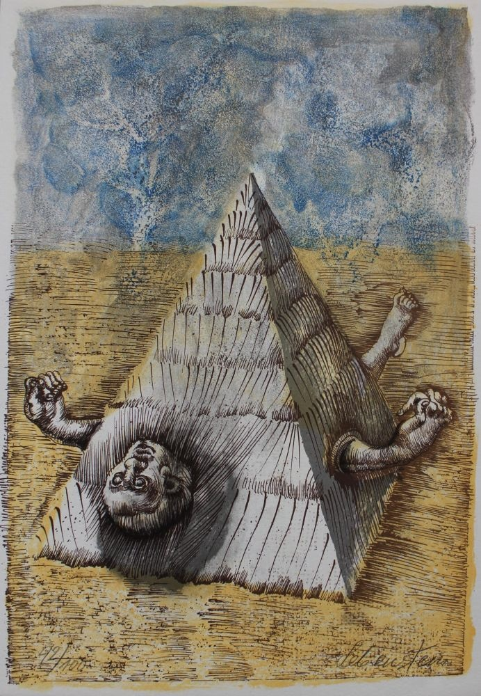 Ilustracja do Eugenio Montale Cinquante ans de poesie