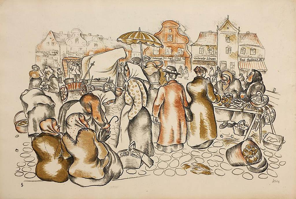 Targowisko, 1923-24