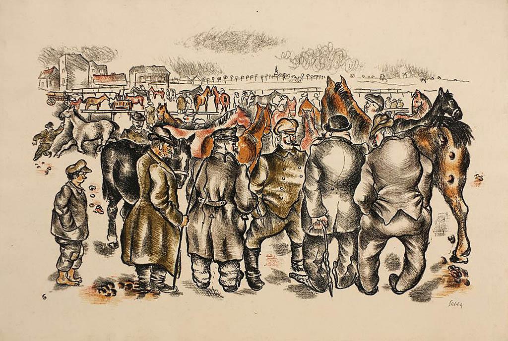 Targ koński, 1923-24
