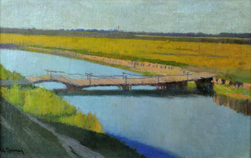 Pejzaż z rzeką