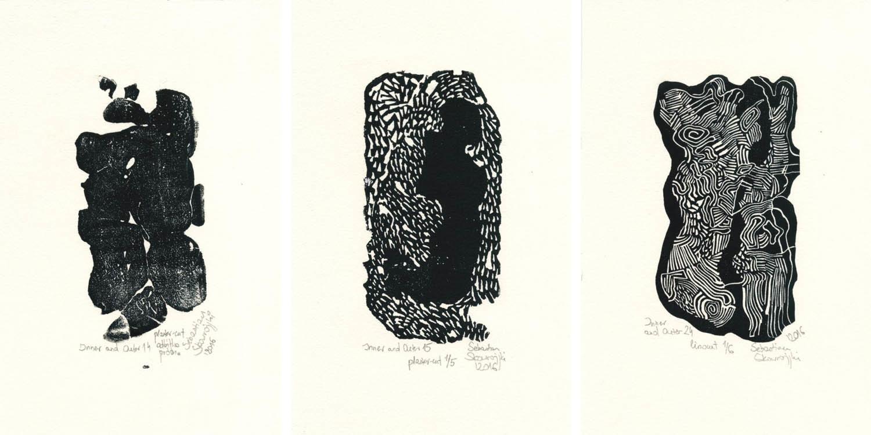 Inner and Outer 14 (2016), Inner and Outer 15 (2016), Inner and Outer 24 (2016)
